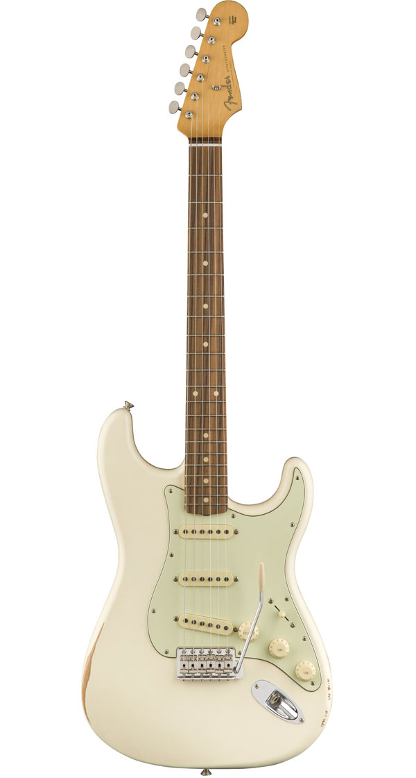 Fender Mexico(フェンダー)Road Worn '60s Stratocaster【Olympic White】