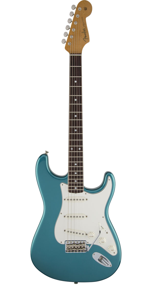 Fender USA(フェンダー)Eric Johnson Stratocaster Rosewood Lucerne Aqua Firemist