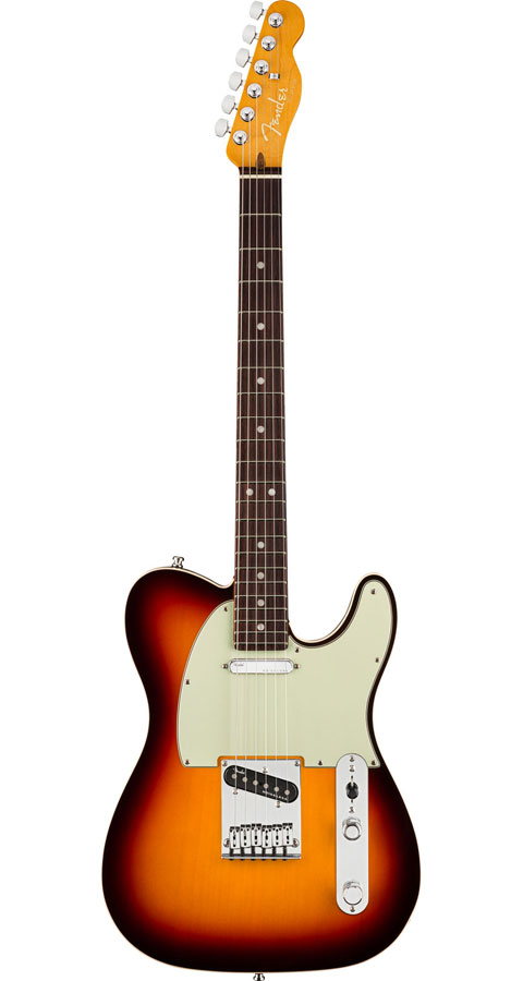 【Rosewood Fingerboard】 Fender USA(フェンダー)American Ultra Telecaster Ultraburst