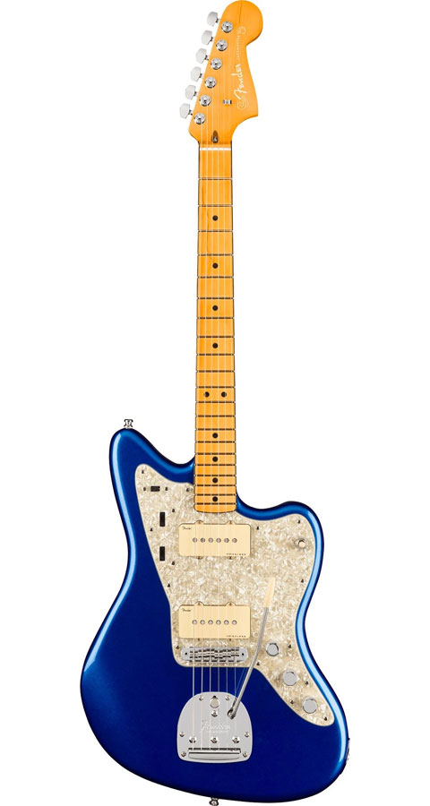 【Maple Fingerboard】 Fender USA(フェンダー)American Ultra Jazzmaster Cobra Blue