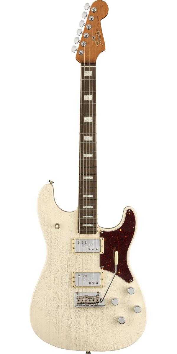 激安☆超特価 Fender USA フェンダー Parallel Universe Volume Strat Static II 日本 White Uptown