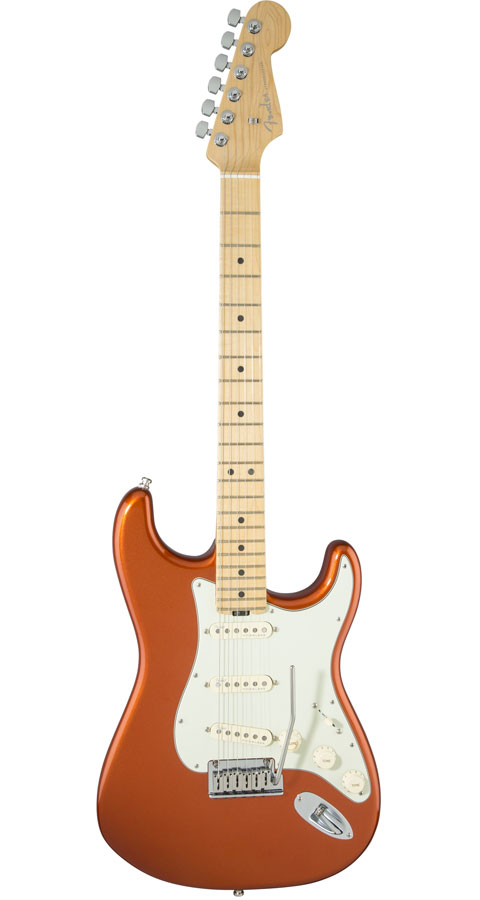 Fender USA(フェンダー)American Elite Stratocaster Autumn Blaze Metallic