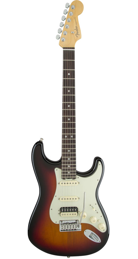 Fender USA(フェンダー)American Elite Stratocaster HSS Shawbucker 3-Color Sunburst(Rosewood Fingerboard)