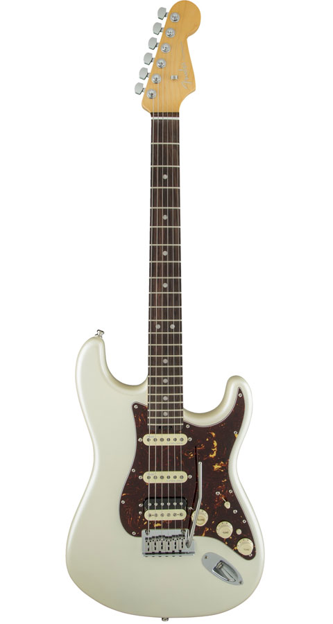 Fender USA(フェンダー)American Elite Stratocaster HSS Shawbucker Olympic Pearl(Rosewood Fingerboard)