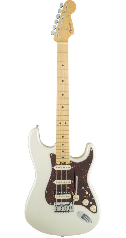 Fender USA(フェンダー)American Elite Stratocaster HSS Shawbucker Olympic Pearl