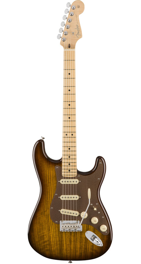 Fender USA(フェンダー)2017 Limited Edition Shedua Top Stratocaster