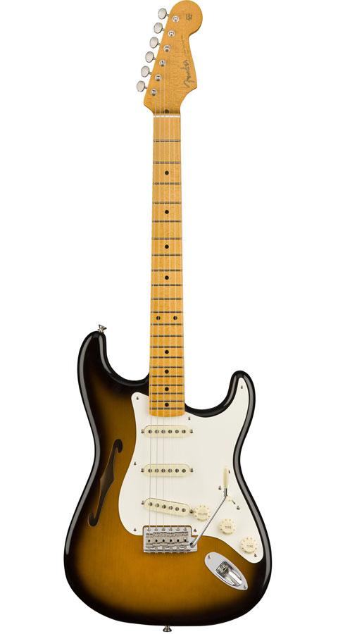Fender USA(フェンダー)Eric Johnson Signature Stratocaster Thinline 2-Color Sunburst