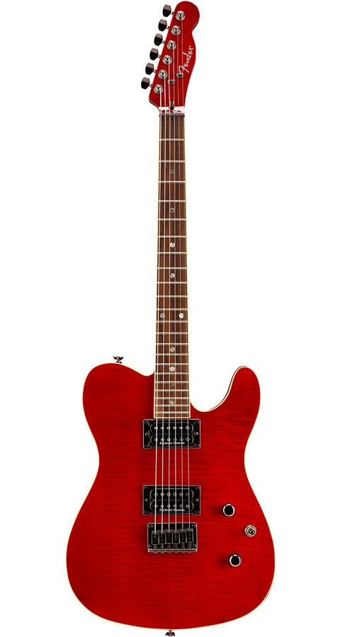 Fender(フェンダー)Special Edition Custom Telecaster FMT HH Crimson Red Transparent