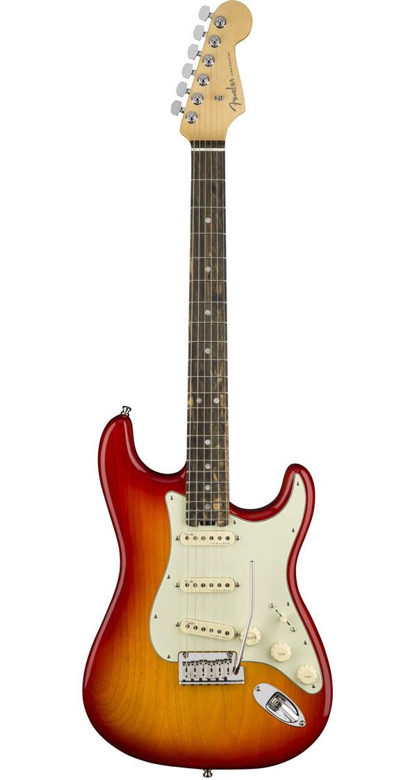 Fender USA(フェンダー)American Elite Stratocaster Aged Cherry Burst(Ebony Fingerboard)