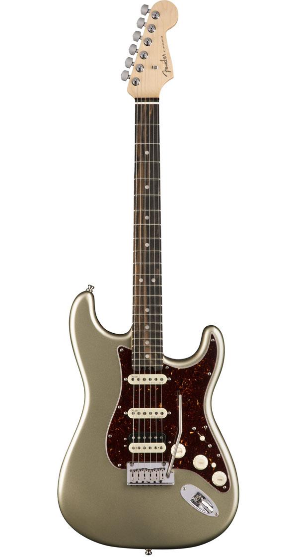 Fender USA(フェンダー)American Elite Stratocaster HSS Shawbucker Champagne(Ebony Fingerboard)