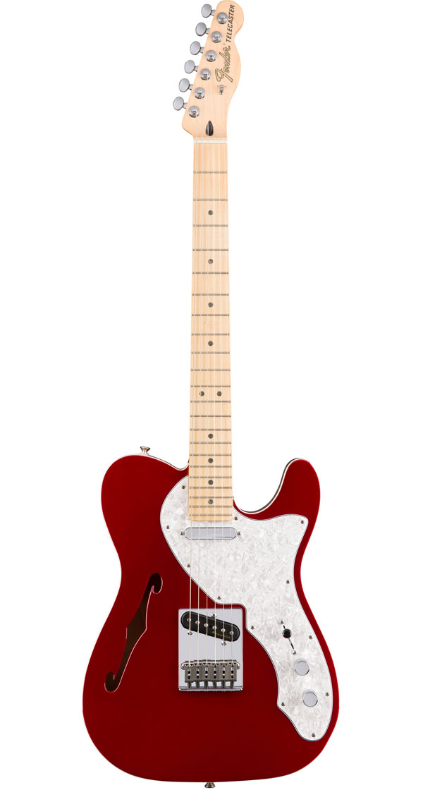 Fender Mexico(フェンダー)Deluxe Telecaster Thinline Candy Apple Red