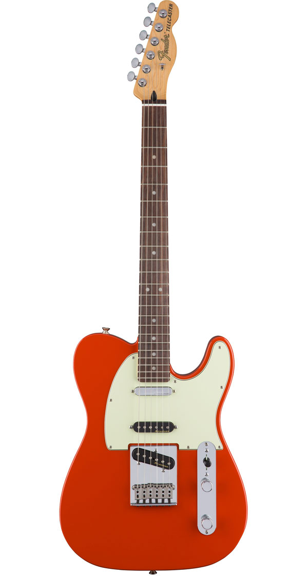 Fender Mexico(フェンダー)Deluxe Nashville Telecaster Fiesta Red