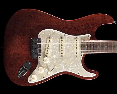 Fender USA(フェンダー)American Design Stratocaster Brown Stain