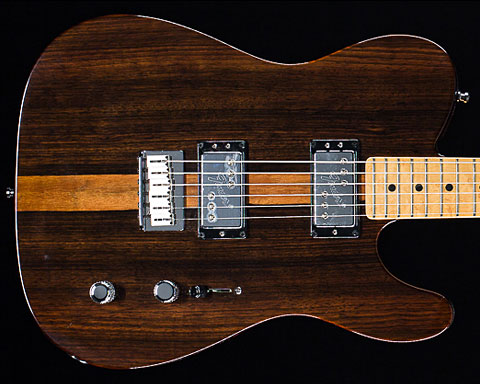 Fender USA(フェンダー)Select Telecaster HH Birdseye Maple Natural