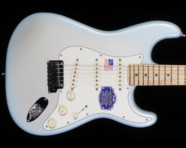 Fender USA(フェンダー)American Deluxe Stratocaster Dealer Event limited 2-Tone Silver Blue
