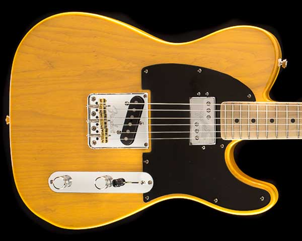Fender USA(フェンダー)Limited Edition American Professional Telecaster Shawbucker Butterscotch Blonde