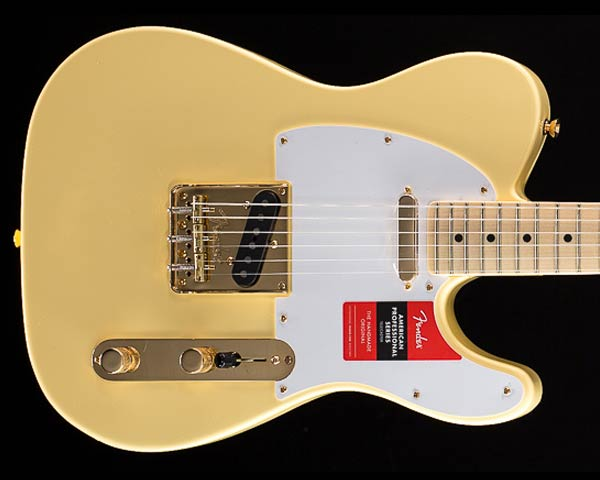 Fender USA(フェンダー)Limited Edition American Professional Telecaster Gold Hardware Vintage White