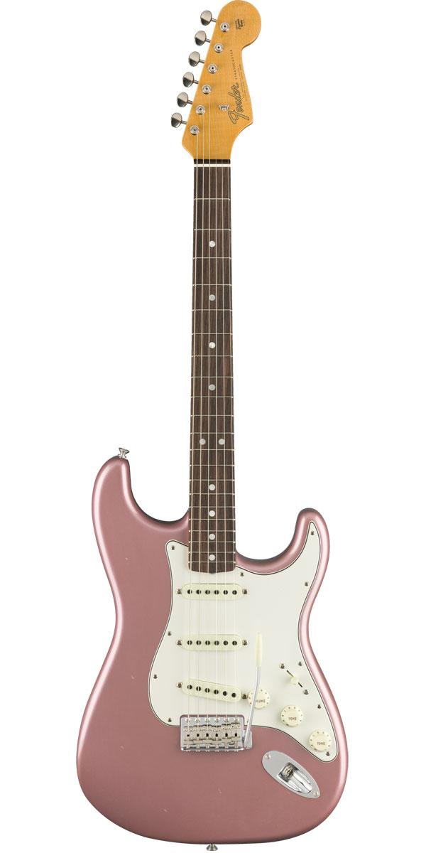 Fender Custom Shop 2019 Time Machine Series 1965 Stratocaster Journeyman Relic Aged Burgundy Mist Metallic(Rosewood Fingerboard)