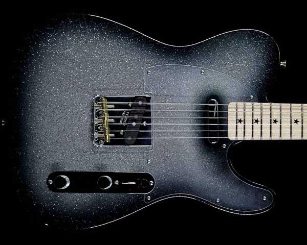 Fender Custom Shop 2017 Alan Hamel Founders Design Sparkle Telecaster Black Sparkle Burst