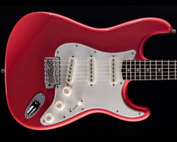 Fender Custom Shop 2018 Postmodern Stratocaster Journeyman Relic Faded Aged Fiesta Red