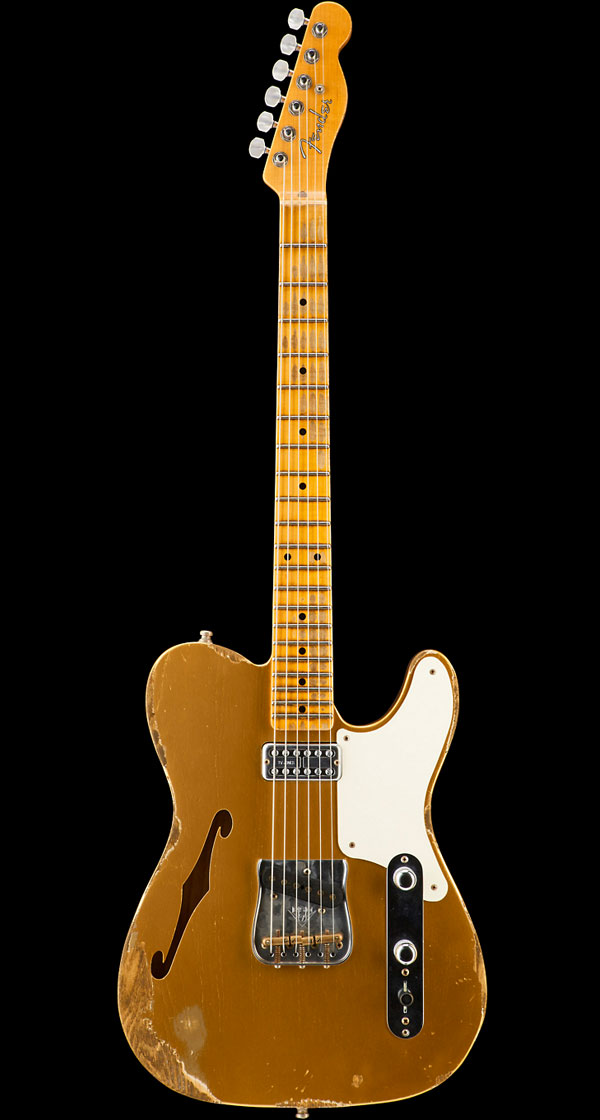 Fender Custom Shop 2016 Limited Edition Caballo Tono Ligero Heavy Relic Aged Aztec Gold