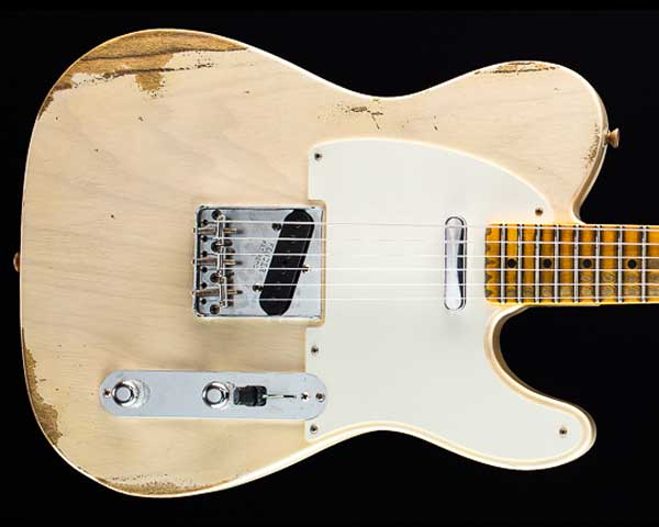 Fender Custom Shop 2018 Summer Event Limited Edition 1954 Telecaster Heavy Relic Aged White Blonde