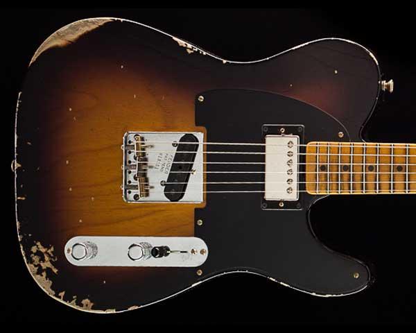 Fender Custom Shop 2018 Limited '51 Telecaster HS Relic Wide-Fade 2-Color Sunburst