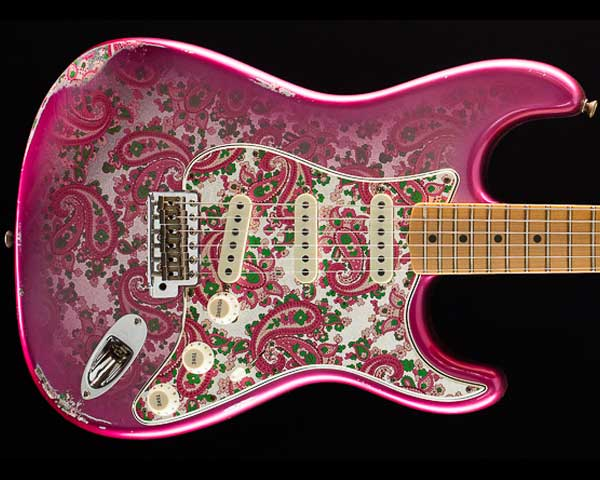 Fender Custom Shop 2018 Limited 1968 Stratocaster Relic Pink Paisley