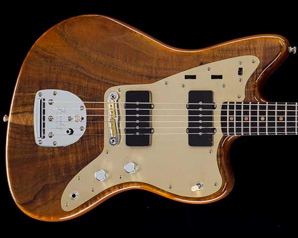 Fender Custom Shop 2018 Artisan Series Koa Jazzmaster Aged Natural