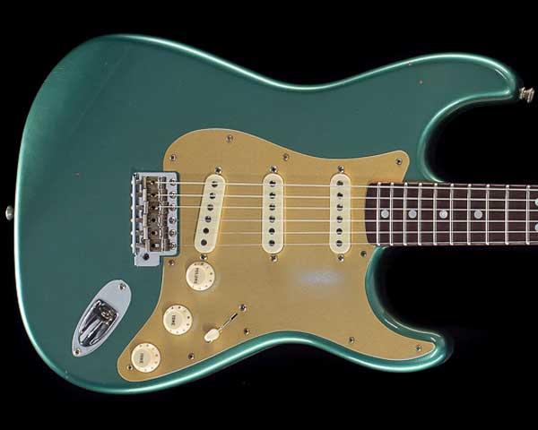 Fender Custom Shop 2019 Limited Big Head Stratocaster Journeyman Relic Aged Sherwood Green Metallic