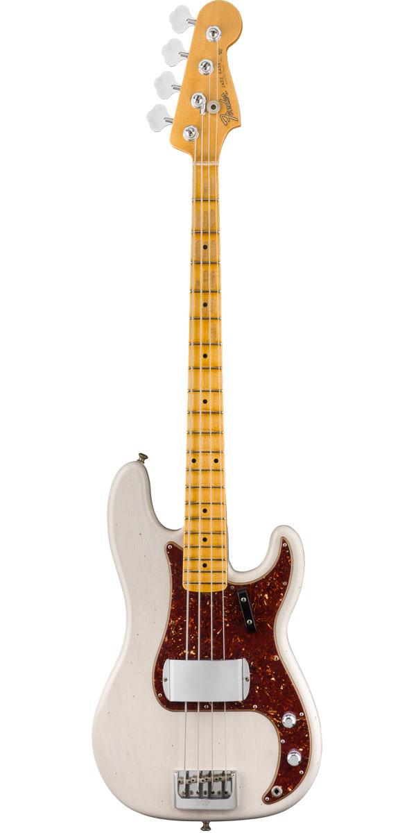 Fender Custom Shop 2019 Postmodern Precision Bass Journeyman Relic Aged White Blonde