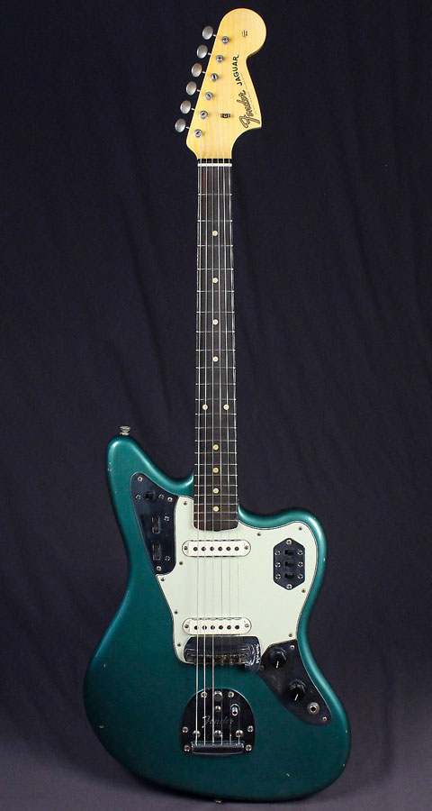 Fender Custom Shop 1963 Jaguar Journeyman Relic Faded Sherwood Green