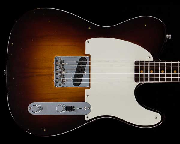 Fender Custom Shop Limited Edition 1957 Esquire Journeyman Relic Wide Fade Chocolate 2-Color Sunburst