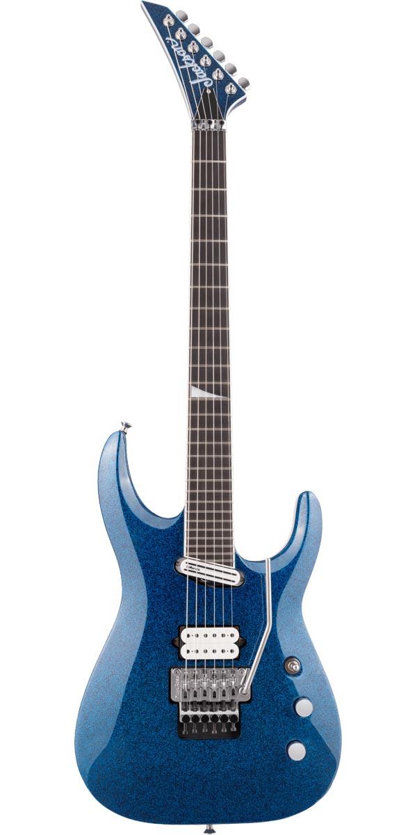 正規激安 Jackson ジャクソン Limited Edition Wildcard Series 新商品 新型 Soloist EX Arch Sparkle SL27 Extreme Blue Top