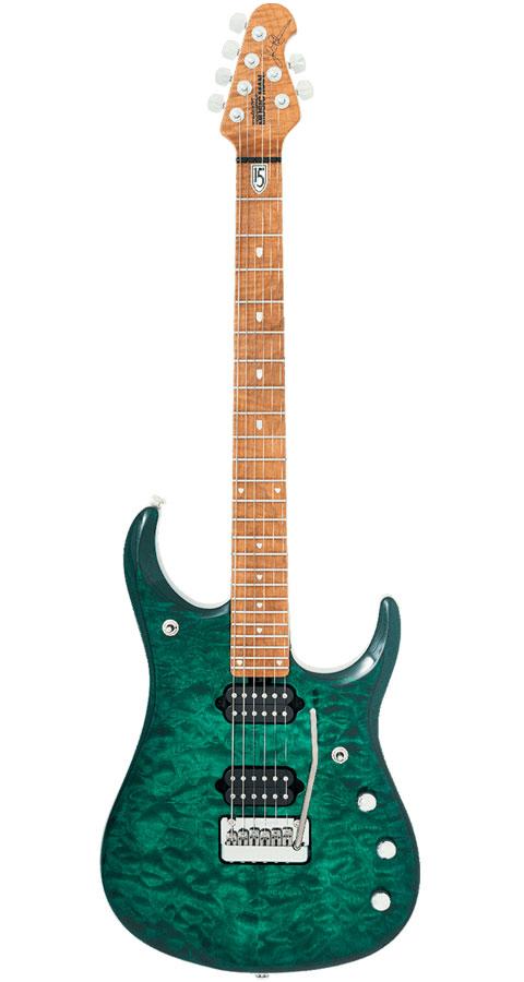 MUSICMAN(ミュージックマン)John Petrucci JP15 6st Teal Quilt