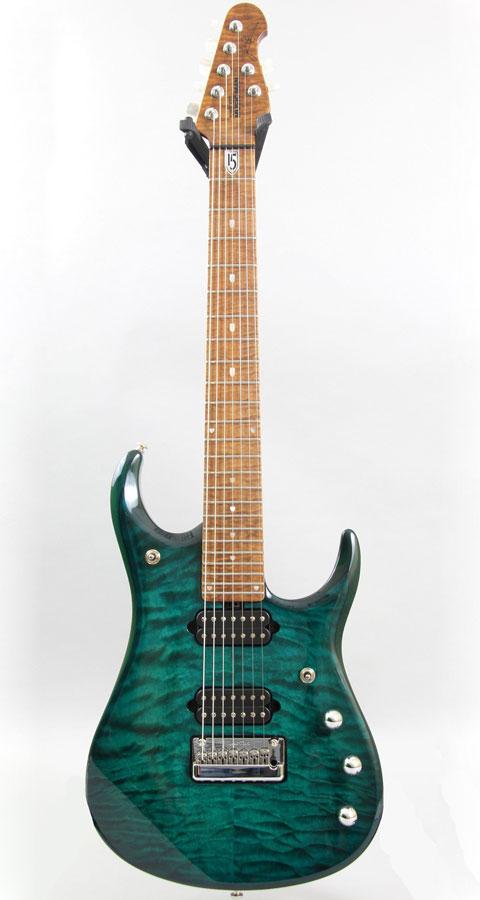 MUSICMAN(ミュージックマン)John Petrucci JP15 7st Teal Quilt