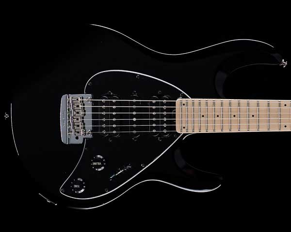 MUSICMAN(ミュージックマン)Silhouette Tremolo Matching Head Black