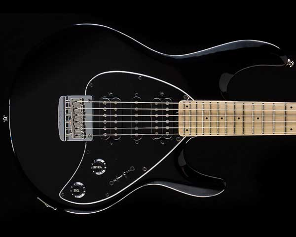 MUSICMAN(ミュージックマン)Silhouette Hardtail Black