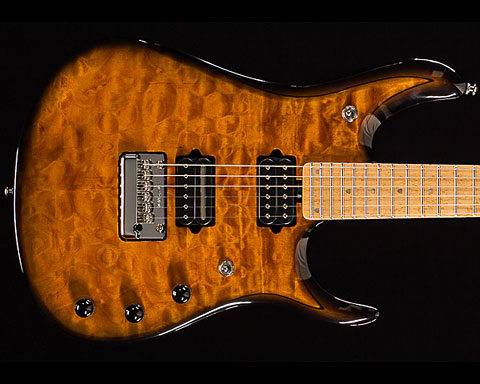 MUSICMAN(ミュージックマン)2015 Limited Edition John Petrucci BFR 6st Quilt Top【Vintage Tobacco Burst】