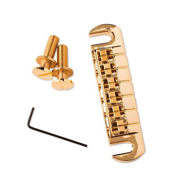 PRS Paul 正規品送料無料 Reed Smith Adjustable 送料無料 激安 お買い得 キ゛フト Stoptail Studs with Gold Bridge ACC-4006