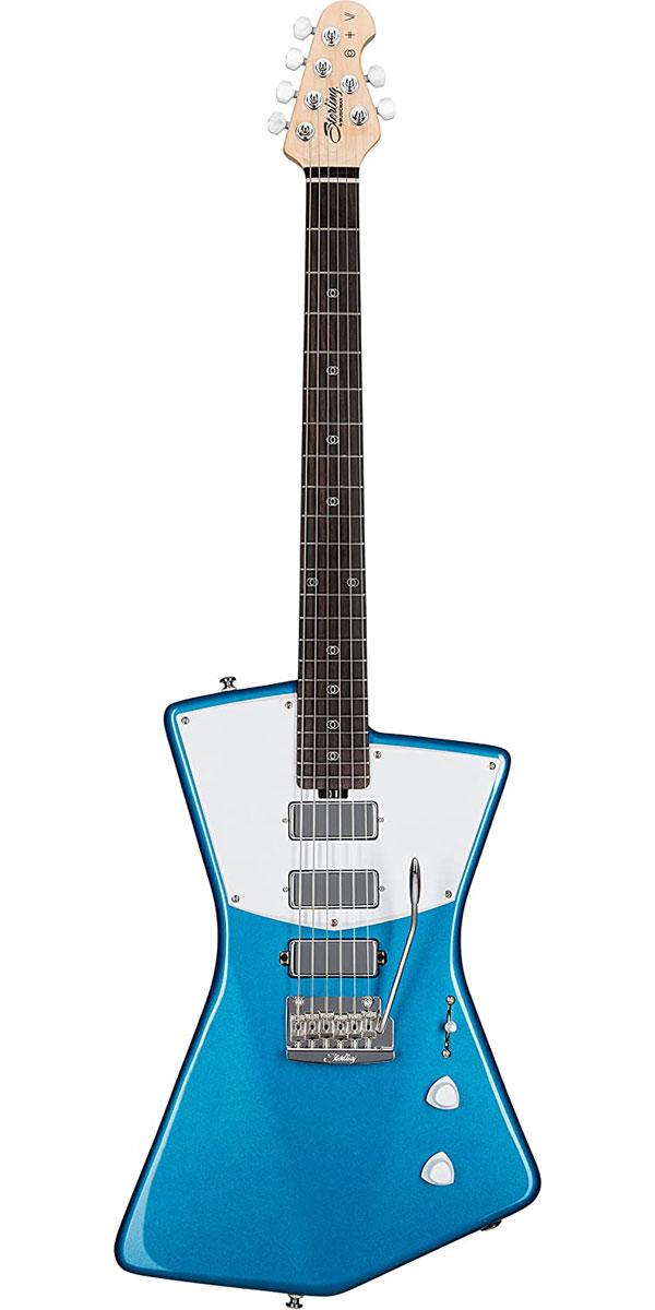 Sterling 安売り by MUSICMAN St. 美品 Vincent Blue Signature STV60 Model