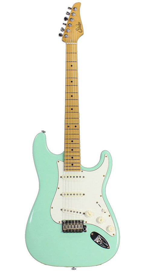 Suhr Guitars(サー・ギターズ)Pro Series Classic Antique SSS Surf Green