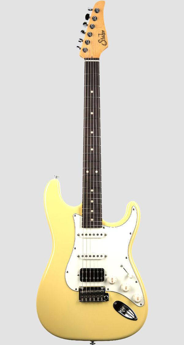 Suhr Guitars(サー・ギターズ)Pro Series Classic S HSS Vintage Yellow(2018最新モデル)