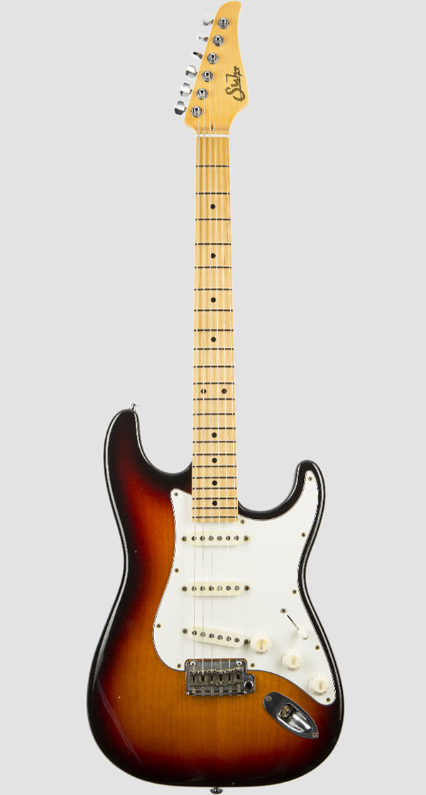 Suhr Guitars(サー・ギターズ)Pro Series Classic S Antique SSS 3 Tone Burst(2018最新モデル)