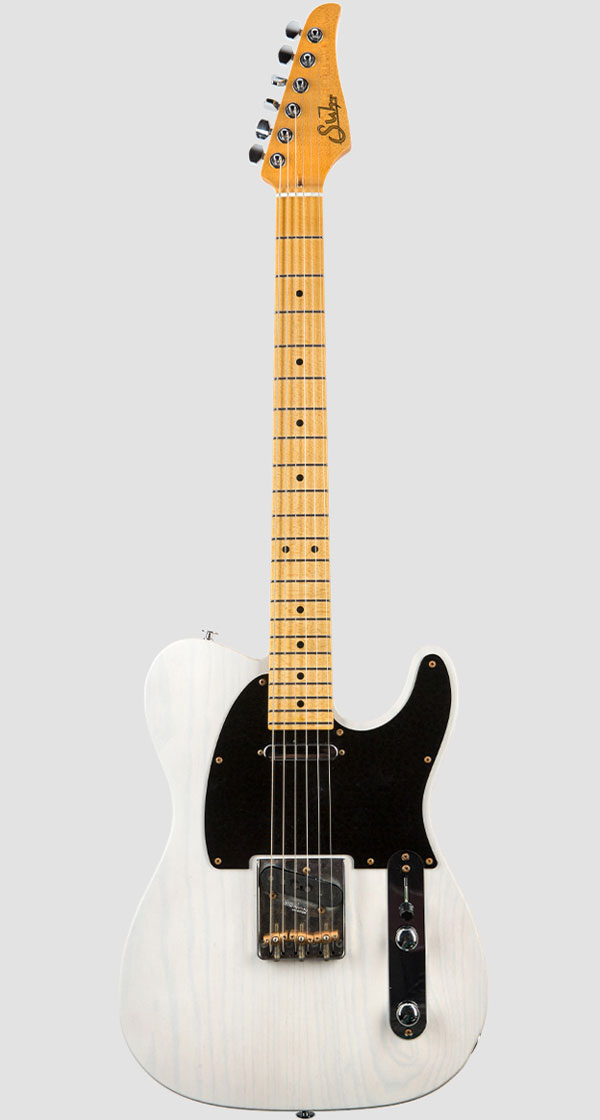 Suhr Guitars(サー・ギターズ)Pro Series Classic T Antique Trans White(2018最新モデル)