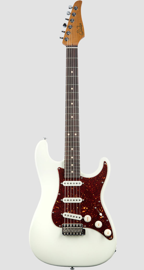 Suhr Guitars(サー・ギターズ)Scott Henderson Signature Olympic White