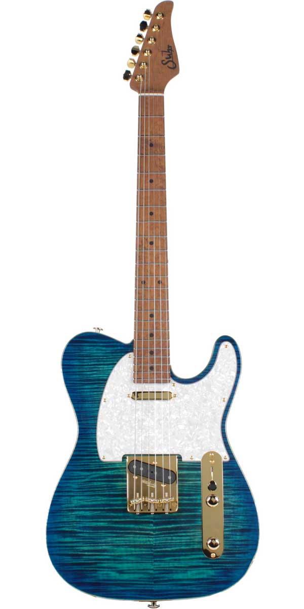 Suhr Guitars(サー・ギターズ)Pro Series Classic T Deluxe Aqua Blue Burst