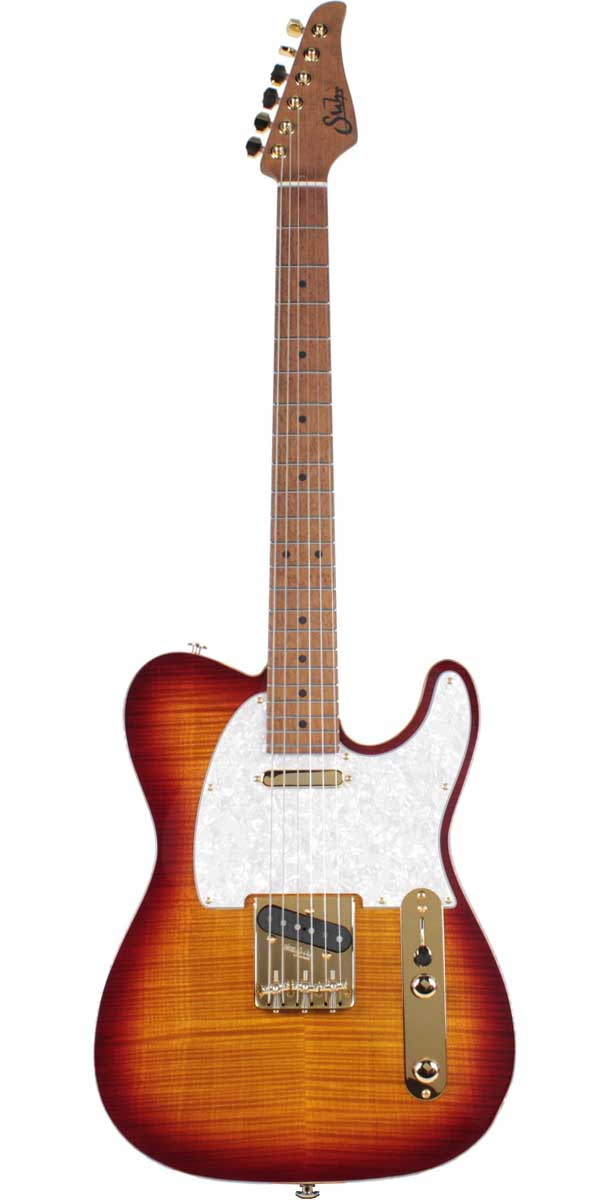 Suhr Guitars(サー・ギターズ)Pro Series Classic T Deluxe Aged Cherry Burst