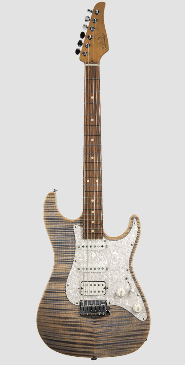 Suhr Guitars(サー・ギターズ)Standard Plus Trans Blue Denim Slate(Pau Ferro Fingerboard)