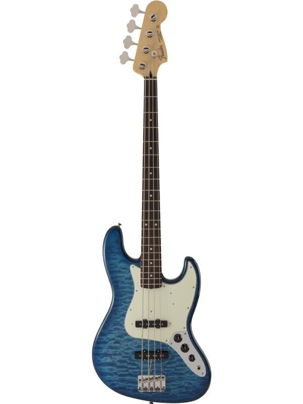 Fender FSR Made in Japan Hybrid 60s Jazz Bass Quilt Top / Transparent Blue 新品[フェンダージャパン][ハイブリッド][Blue,ブルー,青][JB,ジャズベース][Electric Bass,エレキベース]